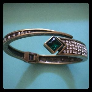 Jewelmint Richard Chai Emerald crystal bronze